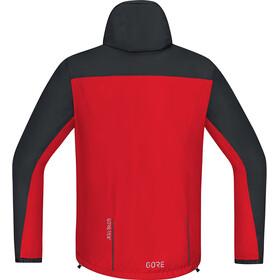 GORE WEAR C3 Gore-Tex Paclite Hooded Jacket Herre red/black